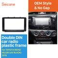 Seicane двойной Din автомобильный Радио Рамка комплект для Toyota Revo Hilux аудио рамка DVD стерео плеер CD отделка 178*100 мм