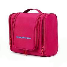 New Women Travel Makeup Bag Large Capacity Portable Waterproof  Cosmetic Bag High Quality Toiletry Organizer Bag Hanging Bag