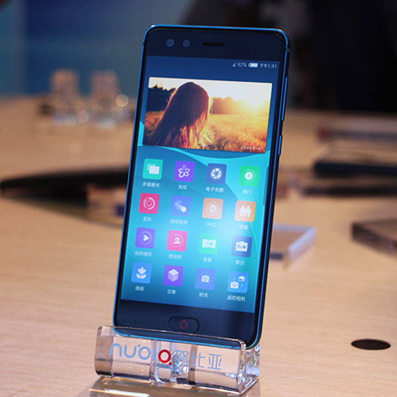 "ZTE Nubia Z17 Mini S Mobile Phone Dual Front Back Camera Octa Core 5.2"" 6GB RAM 64GB ROM 1920 x 1080 Snapdragon 653 4G LTE Phone"