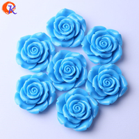 עיצוב לבבי (F15) 50 צבע כחול יח'\חבילה 42 מ