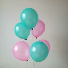 baloons 50pcs/lot 10inch 1.5g pearl pink ballons baby shower decorations helium globos birthday wedding party supplies
