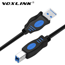 VOXLINK USB 2.0 Print Cable Type A to B Male Printer  For Canon Epson HP ZJiang Label DAC