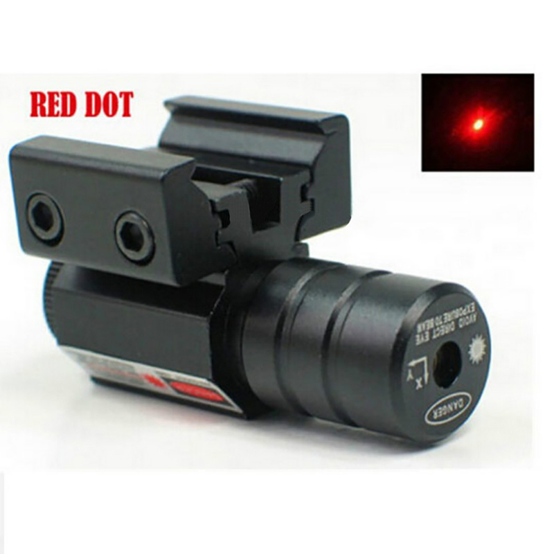 Image 4 - Red Dot Laser Sight  50 100 Meters Range 635 655nm For Pistol Adjust 11mm&20mm Picatinny Rail For HuntIing CY1-in Lasers from Sports & Entertainment