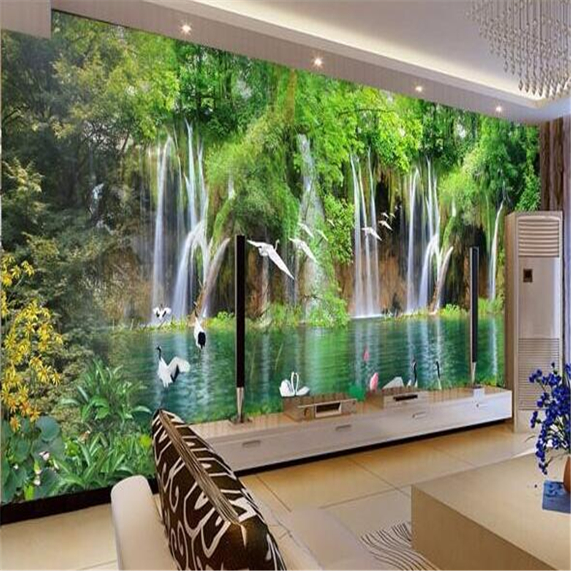 Photo Wallpaper TV Sofa Background 3D Living Room Bedroom Garden Wedding Flowers Mural Wallpaper for walls 3 d Beibehang beibehang customize universe star large mural bedroom living room tv background wallpaper minimalist 3d sky ceiling wallpaper