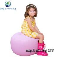 2016 Nouveau Rose Enfants Air Canapé Tabourets Gonflable Jouets Léger Chaise Extérieure Activeity Chambre Salon Meubles