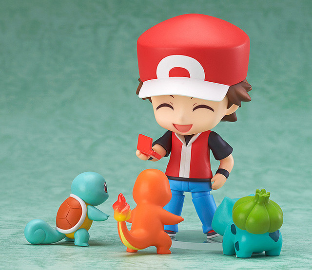 Figurines Sacha Ketchum et 3 Pokémon