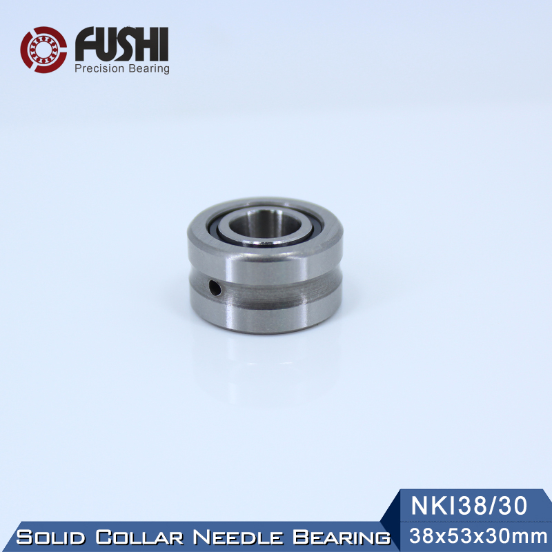 NKI38/30 Bearing 38*53*30 mm ( 1 PC ) Solid Collar Needle Roller Bearings With Inner Ring NKI 38/30 Bearing bk3038 needle bearings 30 37 38 mm 1 pc drawn cup needle roller bearing bk303738 caged closed one end