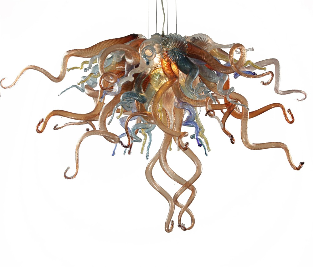 Handmade Blown Glass Chandelier CE UL Certificate LED Light Fixtures Chihuly Style Modern Art Chandelier CheapHandmade Blown Glass Chandelier CE UL Certificate LED Light Fixtures Chihuly Style Modern Art Chandelier Cheap
