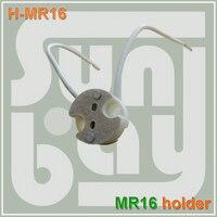 משלוח חינם Bi-Pin Socket קרמיקה גוף נורות עם בסיס GU5.3, G4, MR11, זרקור MR16