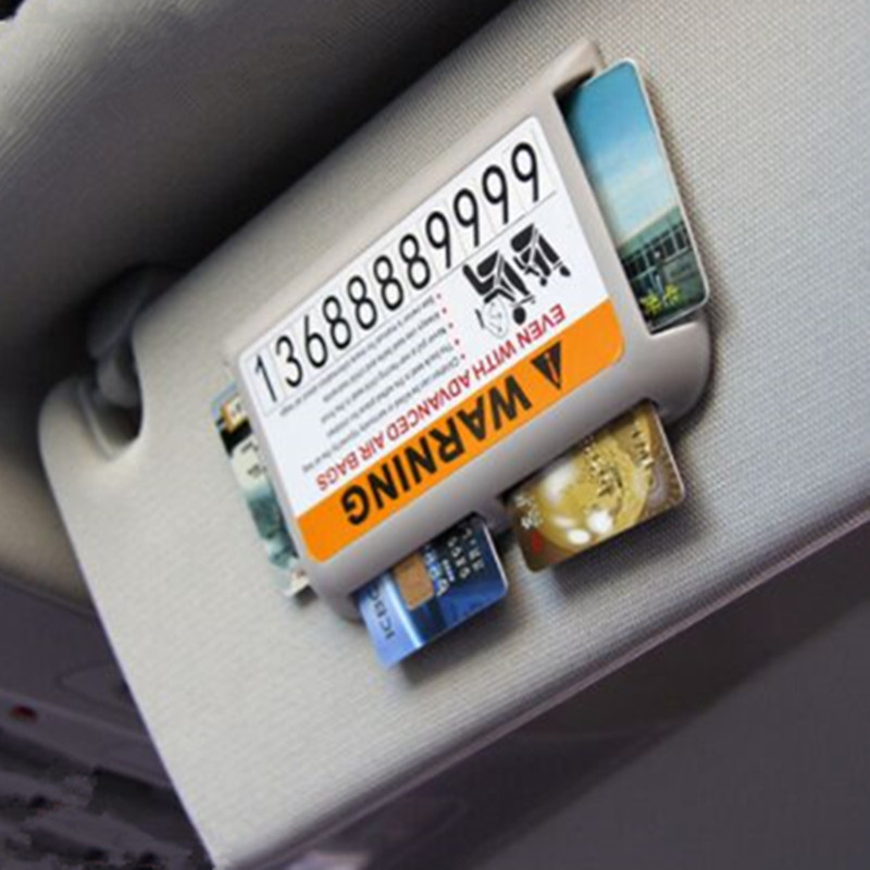 Car Stickes Visor Temporary Parking Phone Number For Nissan Qashqai j11 Juke X-trail T32 Tiida Note Almera Primera Pathfinder