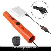 골드 헌터 tmr usb 충전식 핸드 헬드 금속 탐지기 pinpointer 방수 수중 금속 탐지기