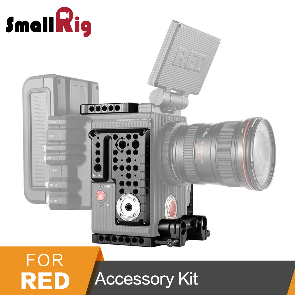 SmallRig Plate Kit for RED Scarlet-W/Epic-W/Weapon + Quick Release Plate Screw+Rod Clamp -2032