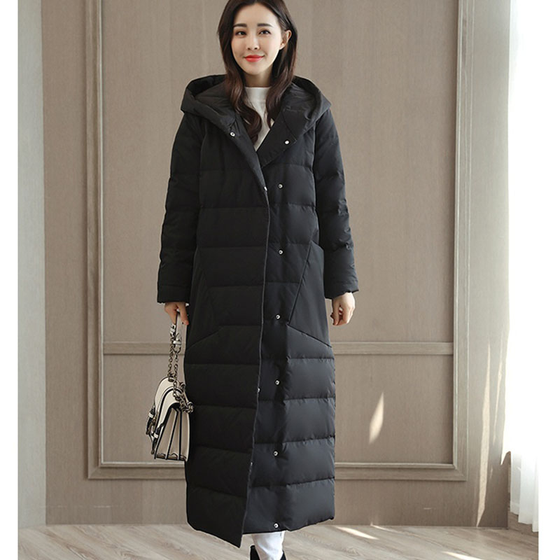 2017 Women Winter Parkas Female Warm Long Slim Hooded jacket coat Cotton Padded Parkas Coat Plus Size Down Parkas LF20-1017 2017 new winter coat for women slim black solid hooded long warm cotton parkas female thicker zipper red jacket padded