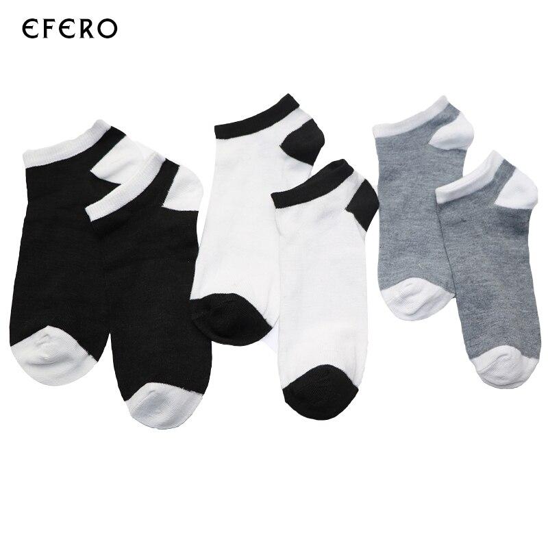 5 Pairs/set Mens Socks For Men Spring Summer Short Male 3D Sock Ankle Crew Socks Cotton Blends Socks Boat Invisible Lot