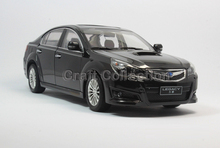 2014 1/18 Black Legacy Diecast Model Car Toy Vehicles Aluminum Die casting Products Automobile Parts 3 Colors Available