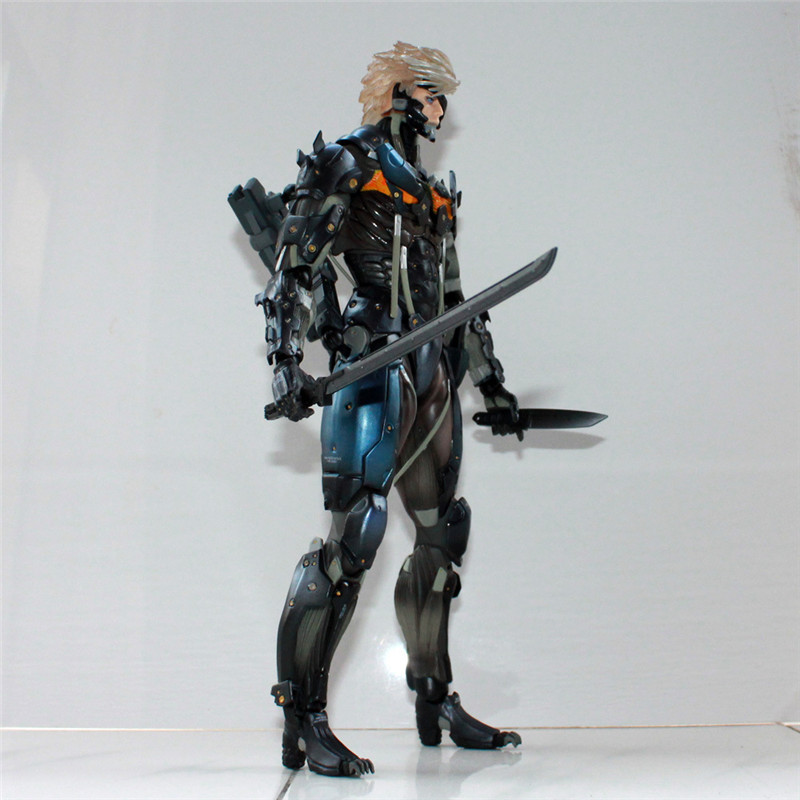 Metal Gear Rising Revengeance Raiden Action Figure 1/8 scale painted figure Metal Gear Solid Rising Raiden Doll PVC ACGN figure