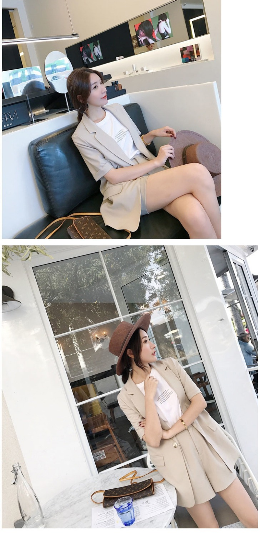 2019 estate nuova versione Coreana di modo delle donne preoccupazione con un due piece Hong Kong nifty piccolo vestito bicchierini del vestito - 5