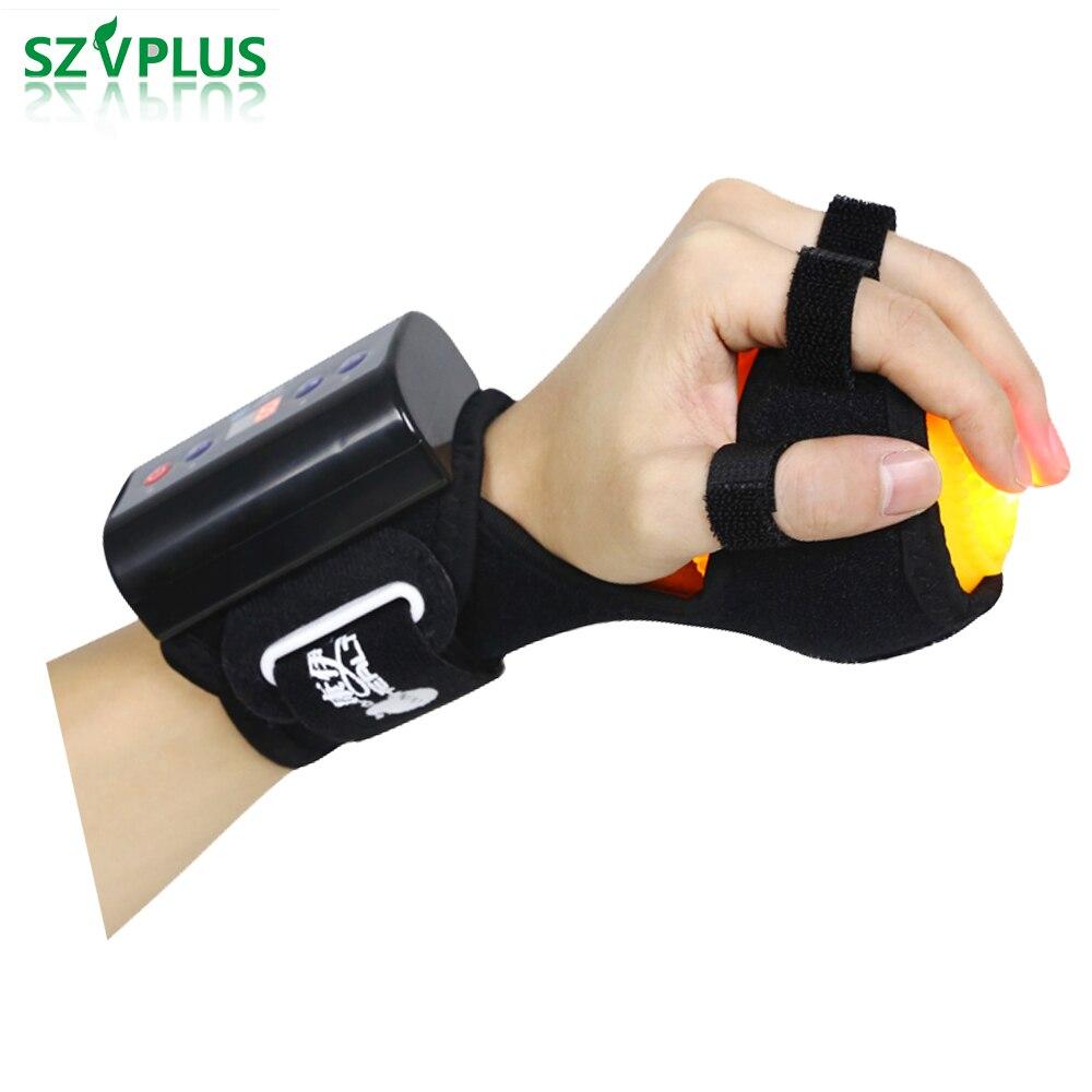 Güzellik ve Sağlık'ten Masaj ve Rahatlama'de Şarj edilebilir Sıcak Kompres Topu Masajı Parmak Spazm Rehabilitasyon parmak fleksiyon düzeltme Fizyoterapi Pasif Eğitim'da  Grup 1