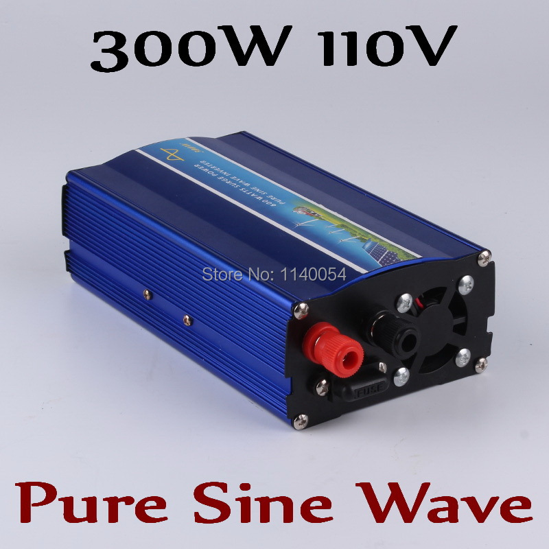 300W off grid inverter, pure sine wave inverter for solar and wind system 110V DC to AC 100/110/120/220/230/240V 300w pure sine wave inverter 48vdc to 110vac 220vac off grid inverter 300w