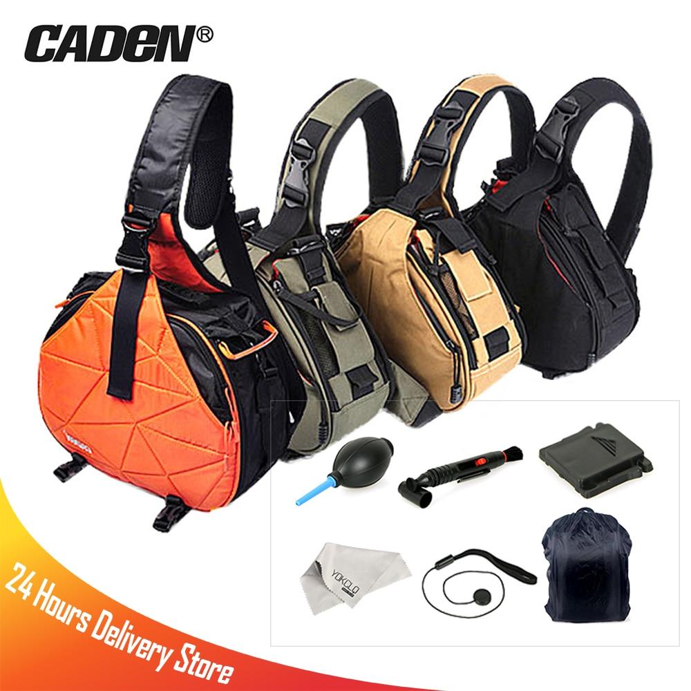 Caden K1 K2 Waterproof Travel DSLR Shoulder Camera Bag With Rain