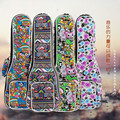 New sale portable 21 23 26 inch soprano ukulele case small bass guitar bags soft gig cover backpack lanikai concert padded strap