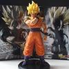 Anime Dragon Ball Z Figure Resolution Of Soldiers ROS Super SaiYan Son Goku PVC Model Toy