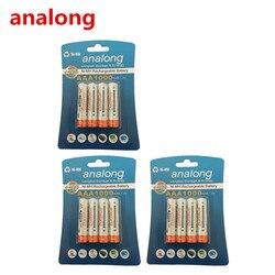 Analong 1,2 v AAA 3A NIMH 1000mah AAA аккумулятор aaa Ni-MH аккумулятор
