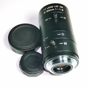 Image 4 - 6 60mm Lens MegaPixel 68 8 Degree MTV CS Mount Infrared Night Vision Manual Zoom Lens For CCTV Security Camera