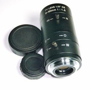 Image 4 - 6 60mm Objektiv MegaPixel 68 8 Grad MTV CS Mount Infrarot Nachtsicht Manuelle Zoom Objektiv Für CCTV Sicherheit Kamera