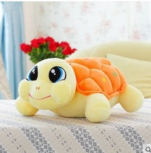 small size cute turtle doll lovely plush turtle toy beautiful turtle toy gift doll about 32cm orange