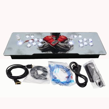 illuminated 999/1299/1388 in 1 game station with LED lights game game controller console Pandora box 5s for amuzement