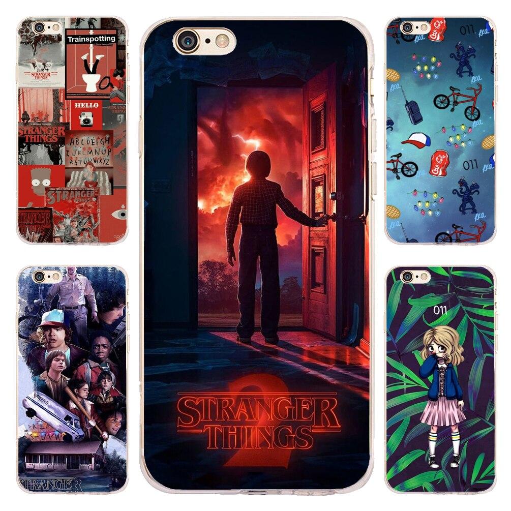 Coque Stranger Things Saison 3 Claire Silicone Souple Téléphone étuis pour iphone XS Max XR X 7 8 6 6 S Plus 5 S 5 SE 5C 4 S iPod Touch 6 5