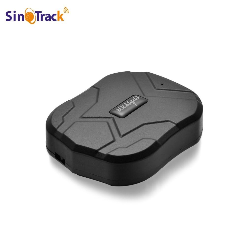Car gps tracker tk905 vehicle tracker device gps locator st 905 waterproof magnet standby real