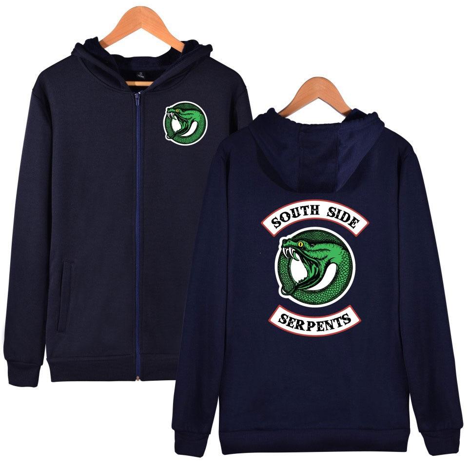Autumn Men Hoodie Thin Banner Printed Streetwear Flags Strip Brass Grommets American TV Series New Album Valley Sweatshirt 7