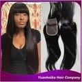 """Высокое качество 1b #3.5x4 """"девственницы бразильские волос шелковистая прямая закрытия шнурка с взрыва бесплатной доставкой"""