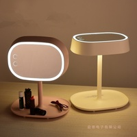 2016 Newest Creative LED Makeup Mirror Table Lamp Touch Sense Dimmalbe Desk Light Warm White White