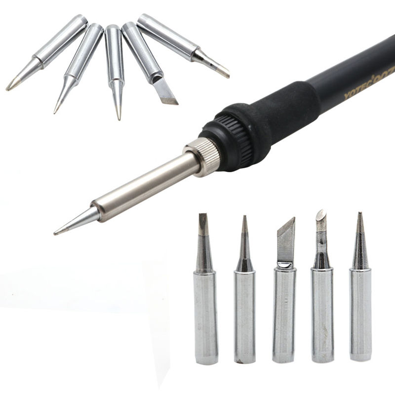 New 5PCS 900M-T Solder Screwdriver Iron Tip For Hakko Soldering Rework Station Tool