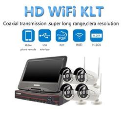 PUAroom 4CH Full HD 1080 P sieci nadzoru kamera night vision H.264 NVR najlepszy bezprzewodowy system CCTV dla domu