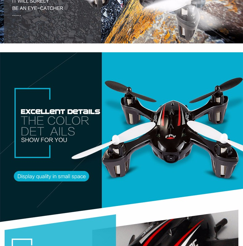 FPV Mini Drones With Camera Hd Jjrc H6d Quadcopters With Camera 4CH Flying Helicopter Camera Professional Drones Rc Dron Copter (15)