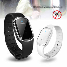 Portable Electronic Mosquito Repellent Killer Bracelet Waterproof Watch Anti Mosquito Repellent Wristband Pregnant Kids #C6(China)