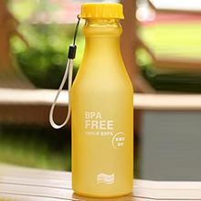 550mL BPA Free Portable Leakproof Unbreakable Travel Yoga Water Bottle Running Camping