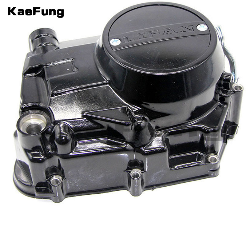 motorcycle dirt pit bike parts Lifan LF 140cc 140 Engine Right Side Clutch Casing Cover Case LIFAN Engine Parts цены