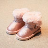 Winter Girls Boots Rubber Boots With Fur For Girls Baby Snow Boots Kids Boots Children Footwear