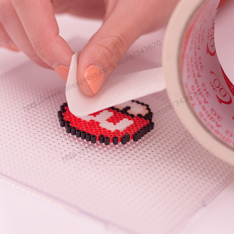 1 Pcs Protection Hama Beads No Deformation Perler/fuse Beads Paper Tape