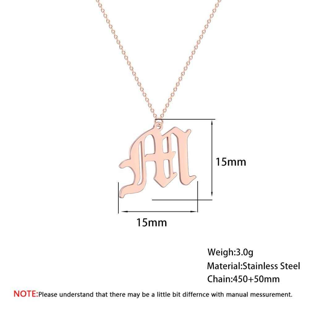 M ожерелье из нержавеющей стали для женщин этнические арабские индийские стиль 2019 Бохо золотые ювелирные изделия винтажные мужские ожерелья женские