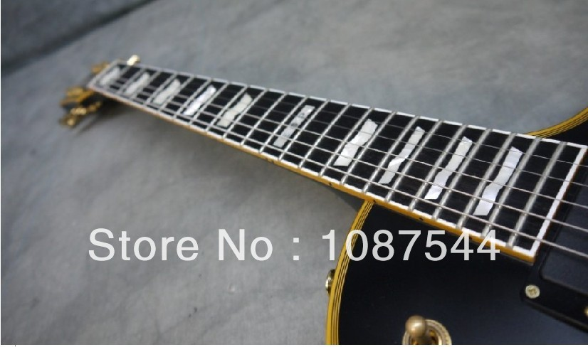 Best selling Hot Ebony fingerboard ESP Standard Series Eclipse II Vintage Black Electric Guitar