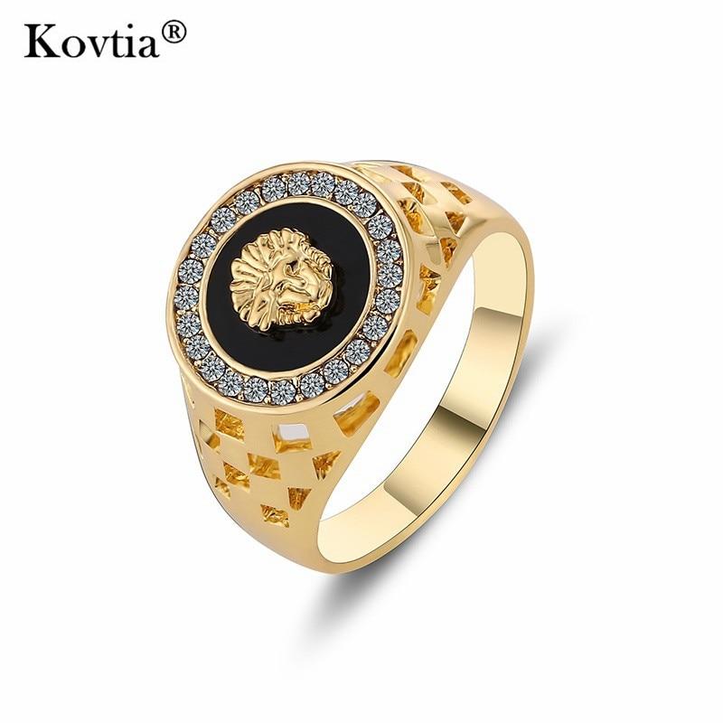 Aliexpress Com Buy Kovtia New Design Gold Color Men