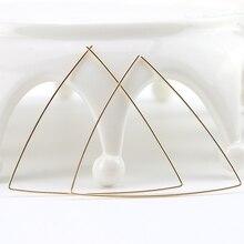 PINJEAS triángulo pendientes de aro geométrico hecho a mano moderno oorbellen minimalista moda joyería presente