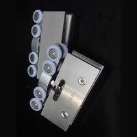 2pcs Adjustable Sliding Glass Door Rollers Hangers Hanging Wheels For Sliding Glass Doors Sliding Shower Door