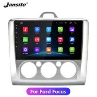 Jansite 9 Автомобильный мультимедийный плеер для Ford Focus камера заднего вида TPMS сенсорный экран 4G сеть 1024*600 управление рулем